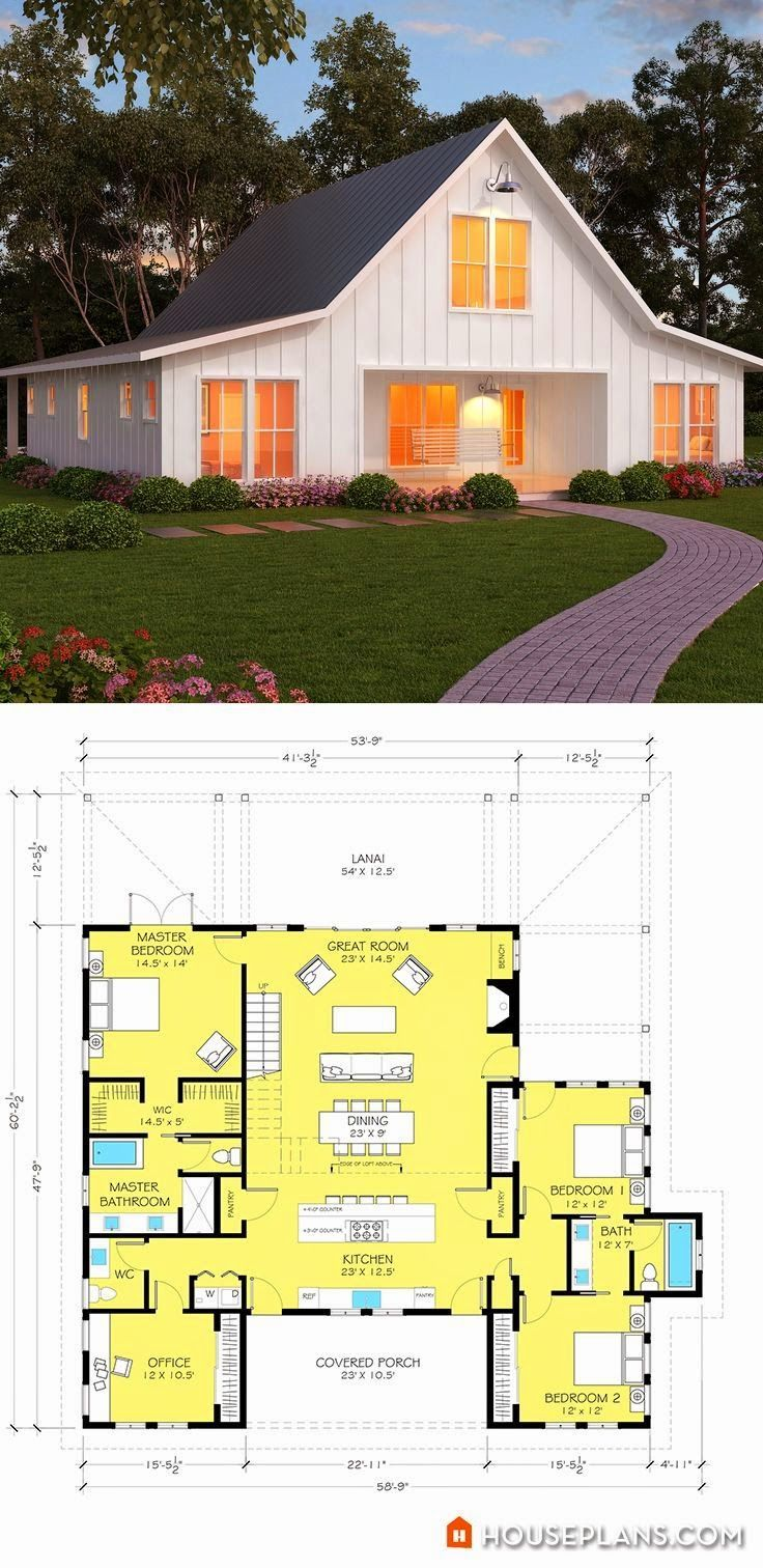The 25 best barn style house plans ideas on pinterest for Barn type house plans
