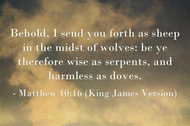 Matthew 10:16