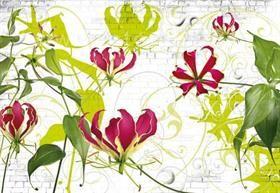 fototapety s květinami, obrazová tapeta květiny | Fortel interier