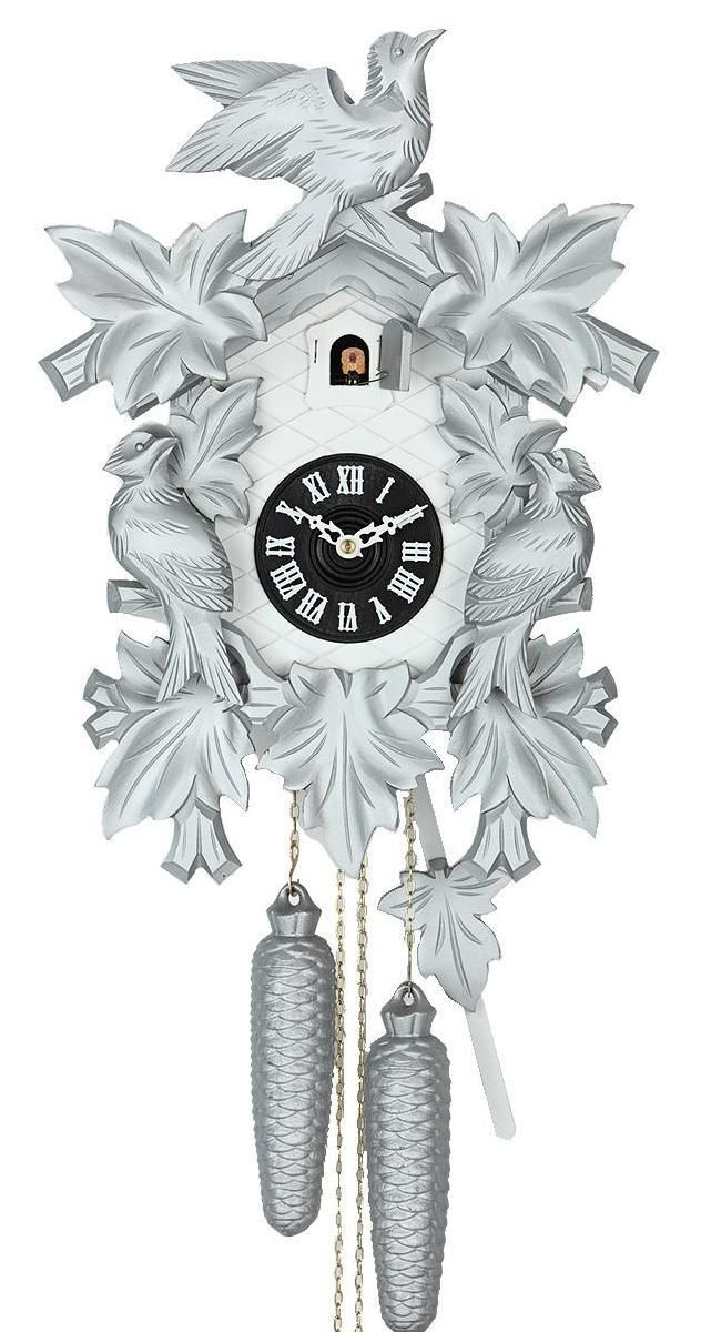Black Forest Cuckoo Clock - i like the shape and composition. SILVER