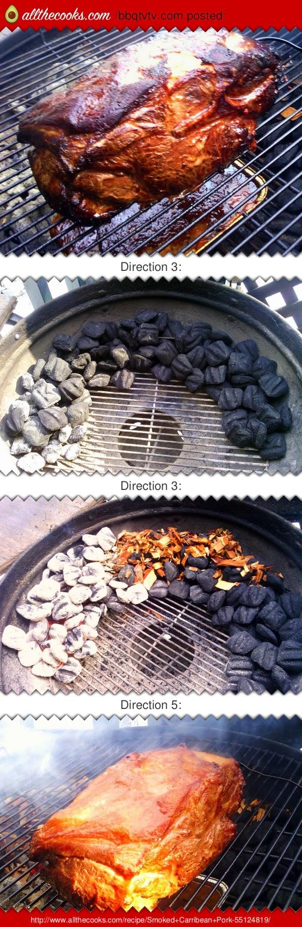 Smoked Carribean Pork