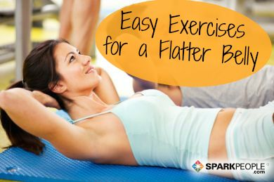 Your Guide to Flat #Abs | via @SparkPeople #fitness