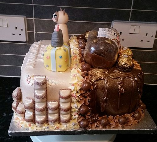 Nutella And Cat Joint Cake
