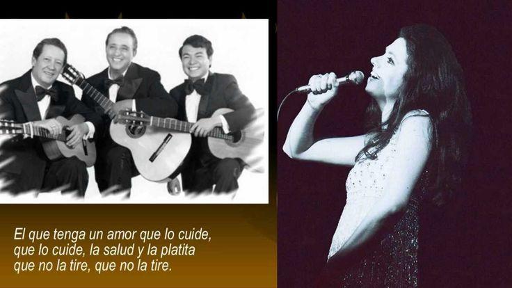 """Gigliola Cinquetti y El Trío Los Panchos: """"SALUD, DINERO Y AMOR"""" 1968"""