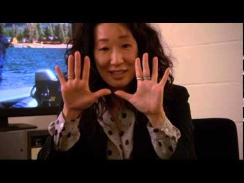 Sandra Oh ripercorre il viaggio di Cristina! http://youtu.be/xsoiI8B5pug (Contenuto speciale del dvd della S10) Video in lingua originale.