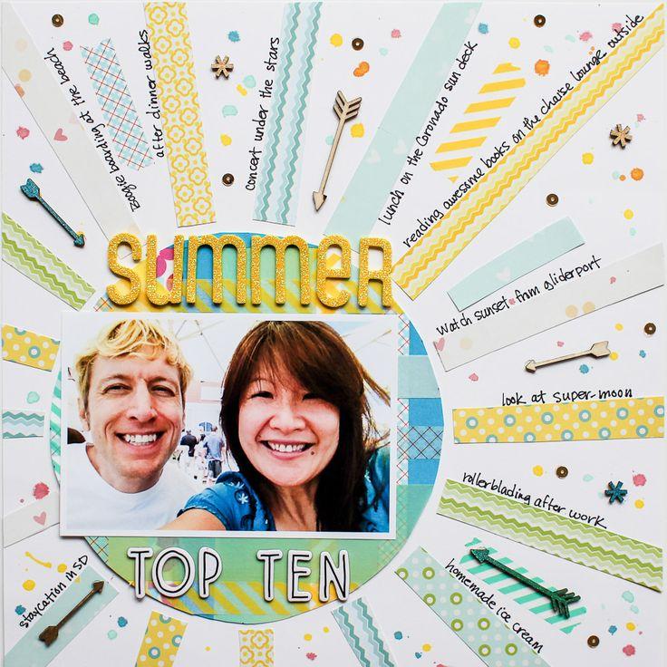 Summer Top Ten (Write Click Scrapbook)
