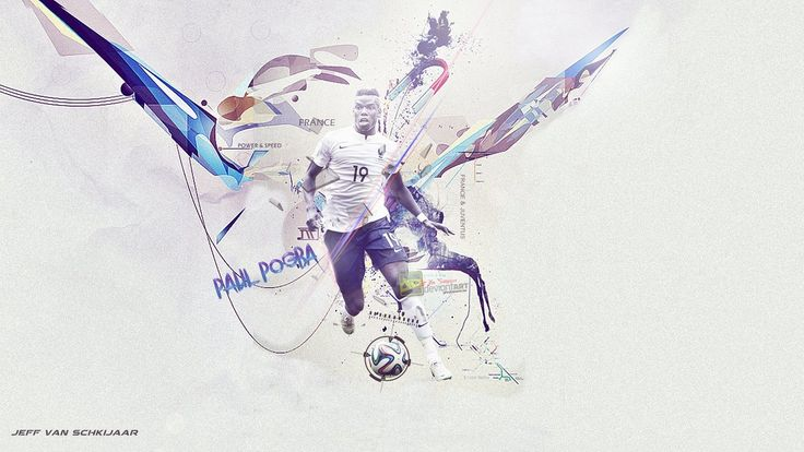 Paul Pogba France FIFA World Cup Wallpaper 2014 By