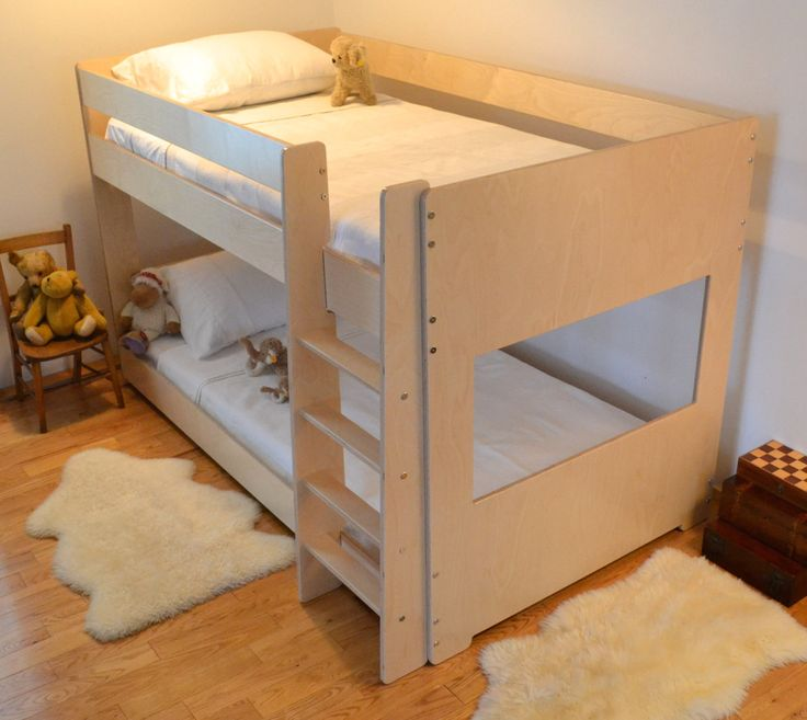 17 best ideas about low bunk beds on pinterest low loft for Low to ground beds