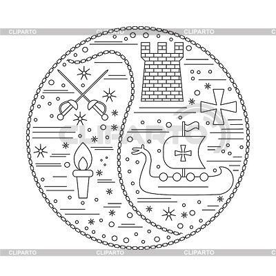 Resultado de imagen para simbolos medievales