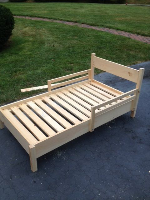 Toddler Bed | Do It Yourself Home Projects from Ana White
