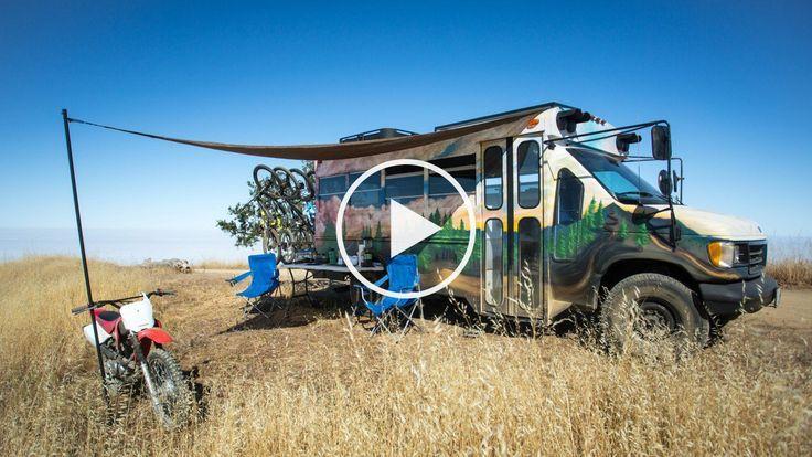 Inside the Coolest Short Bus Camper Conversion Ever