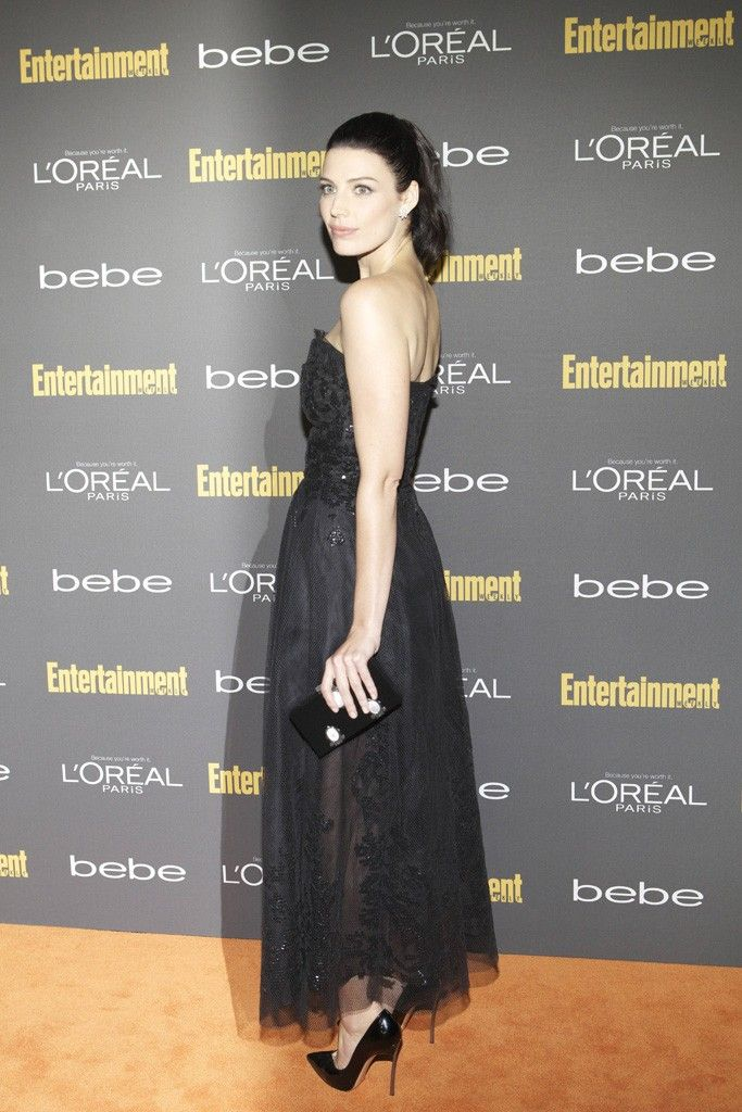 Jessica Paré at the Entertainment Weekly party. [Photo by Katie Jones]