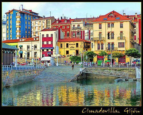 Barrio de Cimadevilla #gijon #asturias #spain #northcoast #paraisonatural
