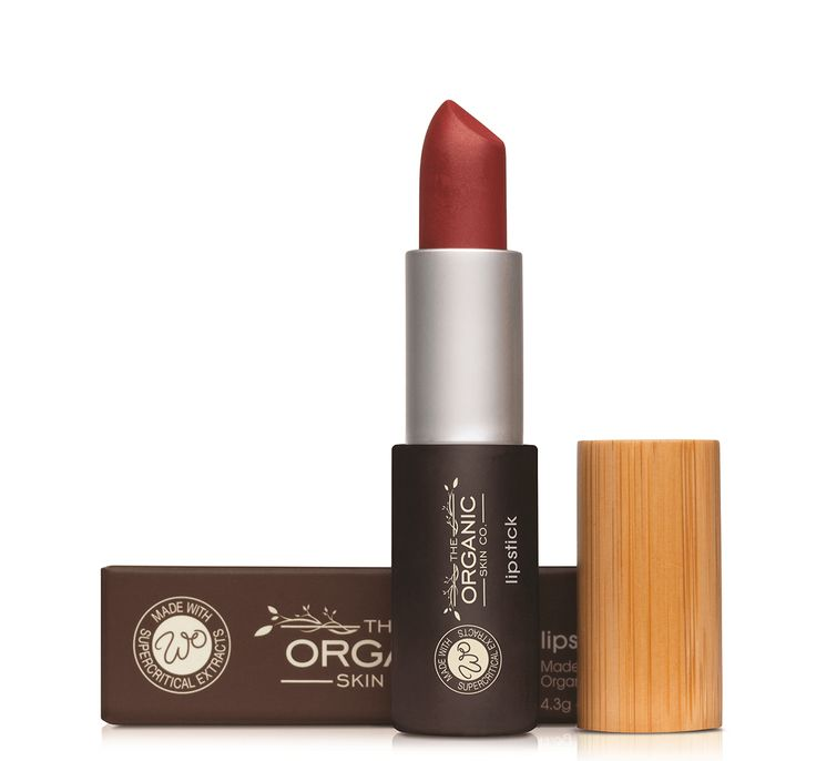 Ruby Red Lipstick from the World Organic Makeup Collection