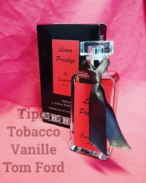#Profumoequivalente #TobaccoVanille di #TomFord  Fragranza #OrientaleVanigliata con note di Tabacco #Lineaprestige cod. 106 #SpedizioneGratuita oltre la spesa di € 24. www.lineaemmezeta.it