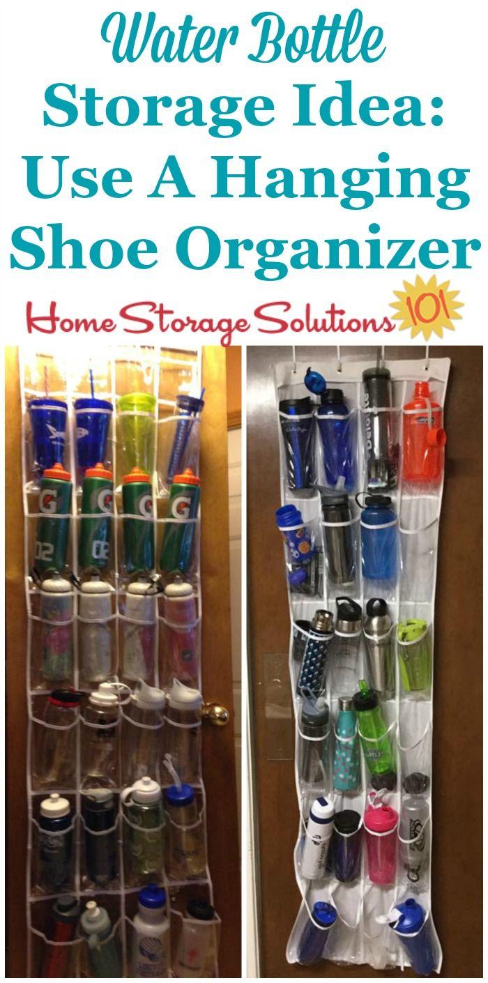Water Bottle Storage Organization Ideas In 2019 Water