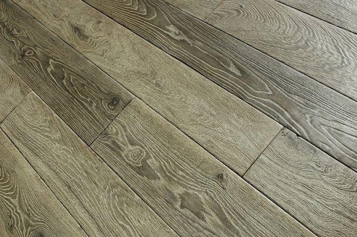 Podłoga dębowa postarzana wielowarstwowa - eurotakes stylowe podłogi