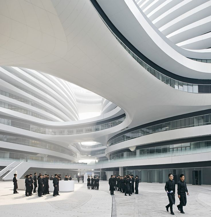 Galaxy Soho / Zaha Hadid Architects. Image © Hufton+Crow - Architectural Photographers: Allan Crow