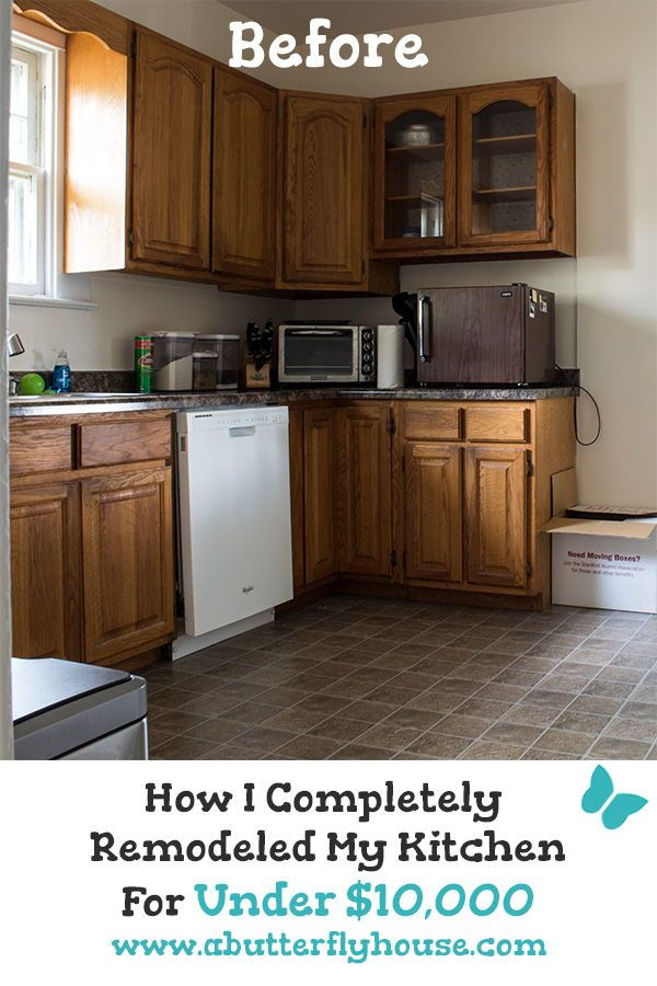 Budget Kitchen Remodel How I Kept It Under 10 000 Budget