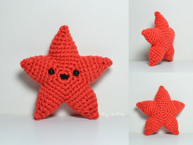 Amigurumi Starfish Pattern : 1000+ ideas about Crochet Starfish on Pinterest ...