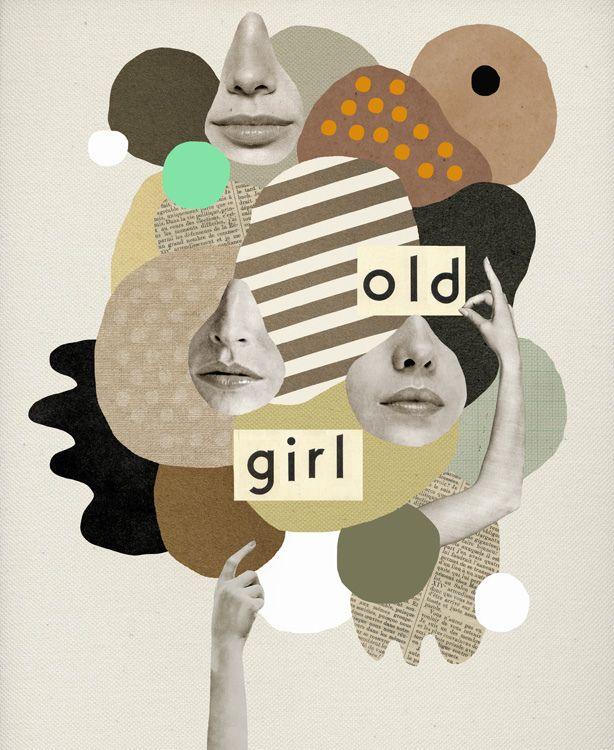 17 best Mathilde Aubier images on Pinterest | Collage, Collage ...