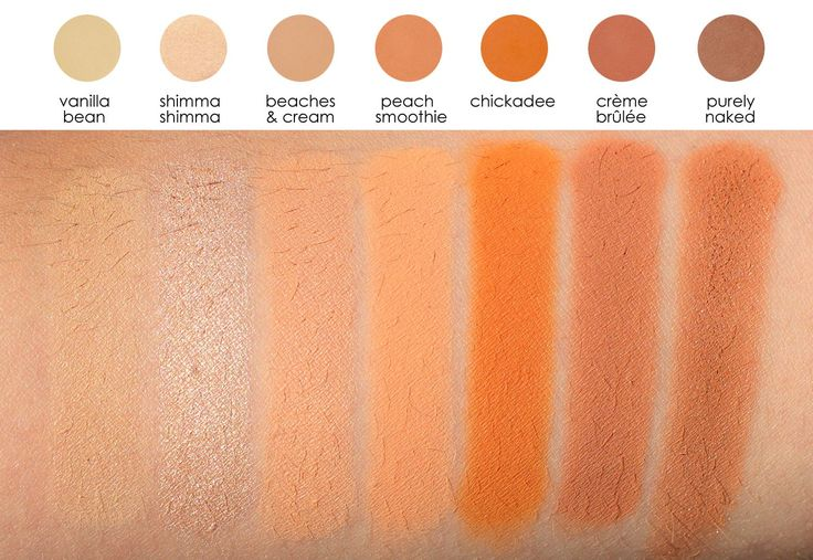 Makeup Geek Eyeshadow Pan - Peach Smoothie - Eyeshadows - Eyes