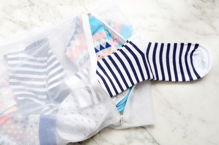 Tuesday's Tip: Zo raak je nooit meer sokken kwijt in de wasmachine!
