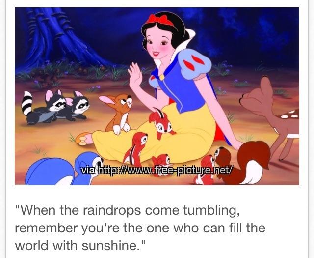 Via Natalie CaplesQuotes From Snow White