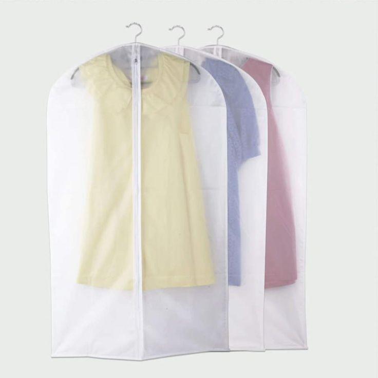 1 pcs Dress Clothes Garment Suit Cover Case Dustproof Storage Bags Protector 2016 New arrival 60 x 100cm/60 x 137cm