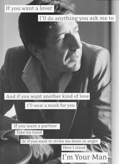 @brittondael This is one of the first Leonard Cohen songs I encountered. I think I was 14 years old. It might have set the tone of my world for me going forward. Can you tell? Random trivia, the very first song of his that I heard was 'Tower of Song' and then 'Take this Waltz.' I remember it so clearly.