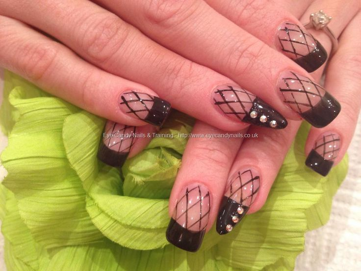 141 best manicures images on pinterest nail scissors cute eye candy nails training nails gallery black fishnet stocking nail art with swarovski crystals on acrylic nails by elaine moore on 23 february 2013 at prinsesfo Image collections