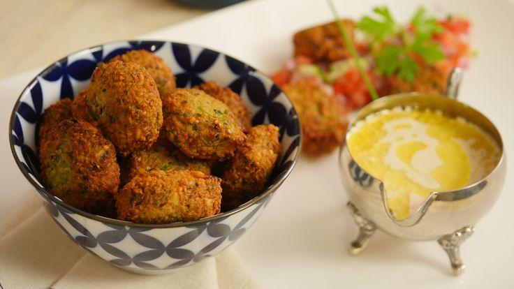 Uma receita de Falafel para uma janta diferente e deliciosa. Experimente!