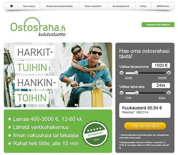 ostosraha.fi - VertaaLainaa.f