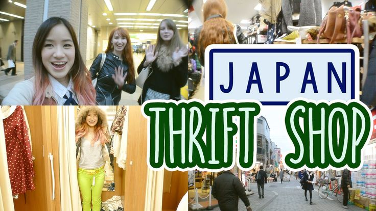 KimDao visits a thrift shop in Japan with Rachel from Rachel and Jun and Audrey!