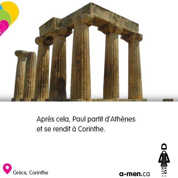 Corinthe, Grèce http://www.a-men.ca/ http://www.fb.com/a.men.ca #amen