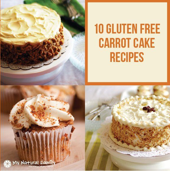 10 of the Best Gluten Free Carrot Cake Recipes