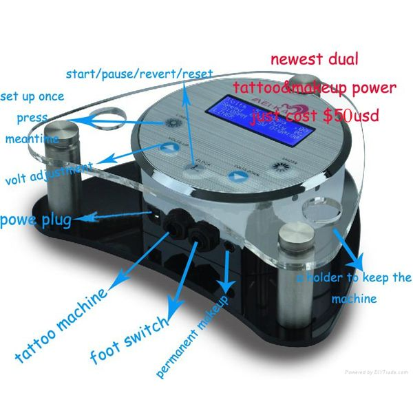 LCD Power Unit_Fly Tattoo Supply