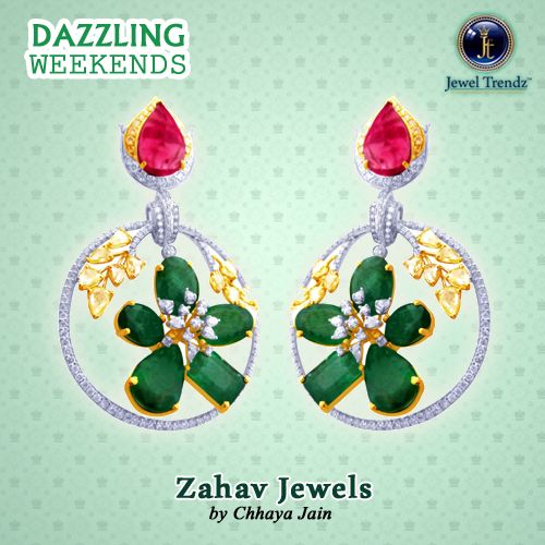 Showcasing the Zahav Jewels' Valentine Collection. They have the touch of elegance that touches the beauty of a lady. | #beautiful #jewelry #love #magazine