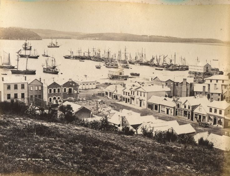 Dunedin - Rattray Street 1862
