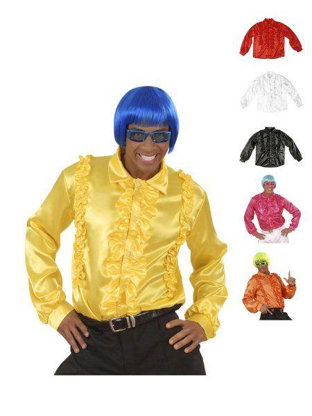 https://11ter11ter.de/30672304.html 70s Disco Boy Rüschenhemd #11ter11ter #karneval #fasching #kostüm #outfit #fashion #style #party #70s #70er #disco