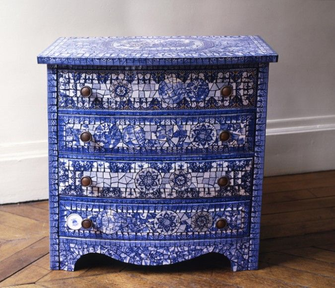 Mosaic Chest Of Drawers