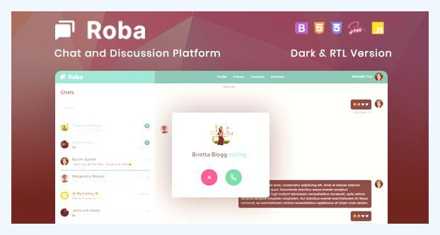 Bootstrap Chat Chat App Chat Dating Chatting Communication Conversation Discussion Envato Free Nulled Theme Html5 Templates Template Site Templates
