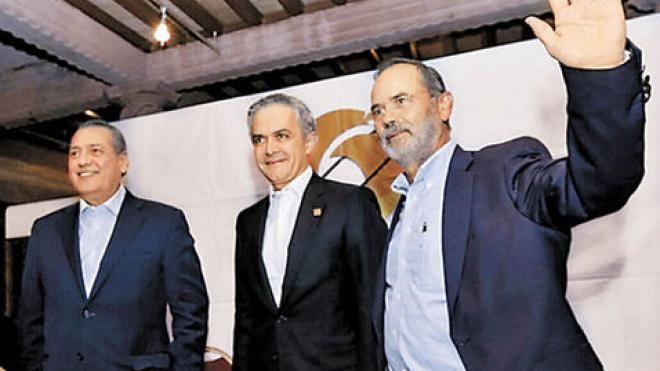 Beltrones, Mancera y Madero impulsan gobierno de coalición para 2018 | El Puntero