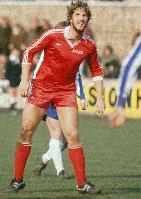 Ian Botham of Scunthorpe Utd in 1980.