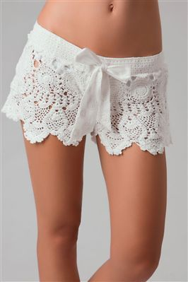 love: At The Beaches, Letart Women, Coverup, Crochet Shorts, Eyelet Shorts, Bath Suits, Lace Shorts, Covers Up, Swimsuits Covers