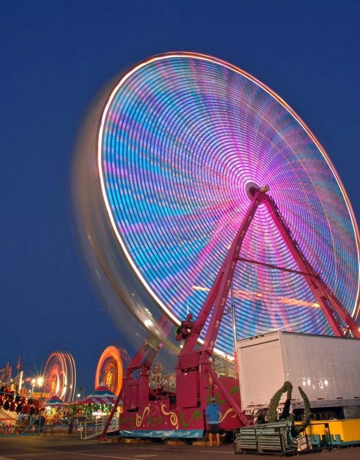 Fairground - Pleasanton, California - I go at least twice every time the fair is in town, more if I can. Love it!