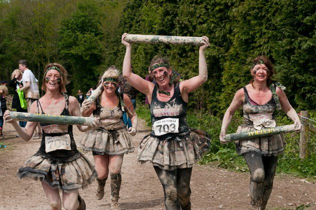 Obstacle races and mud runs