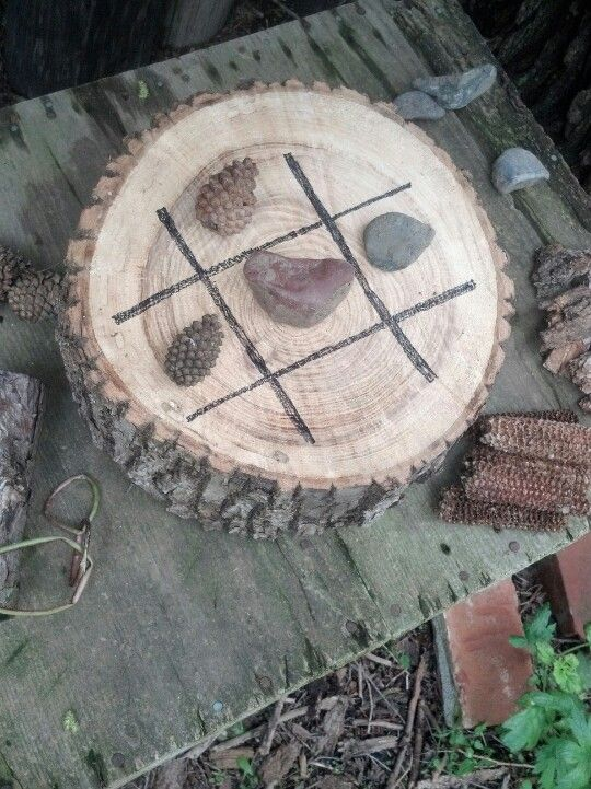 nature tic tac toe