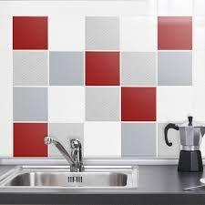 17 melhores ideias sobre cuisine rouge et gris no for Carrelage salle de bain rouge et gris