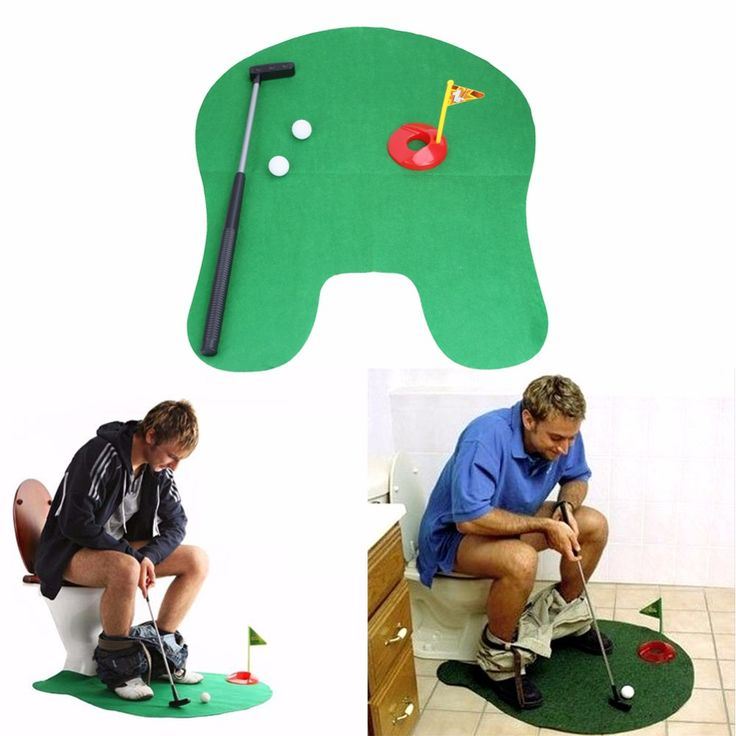 Now available at Burt's Bargains, Potty Putter Toil... . Check it out here http://burtsbargains.com/products/potty-putter-toilet-golf-game?utm_campaign=social_autopilot&utm_source=pin&utm_medium=pin.